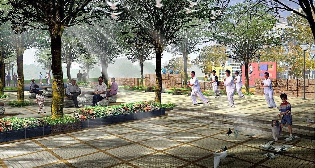 老年住宅的园林景观设计的原则