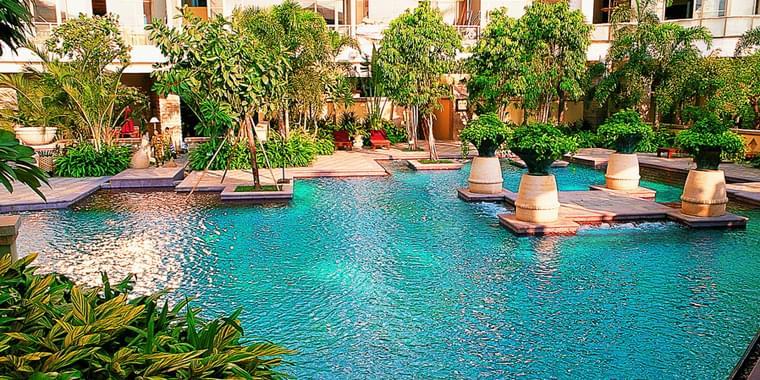東南亞風格室內景觀