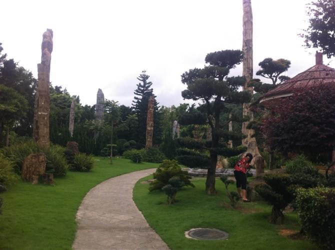 东莞园林景观公司雕塑艺术发展 中艺源