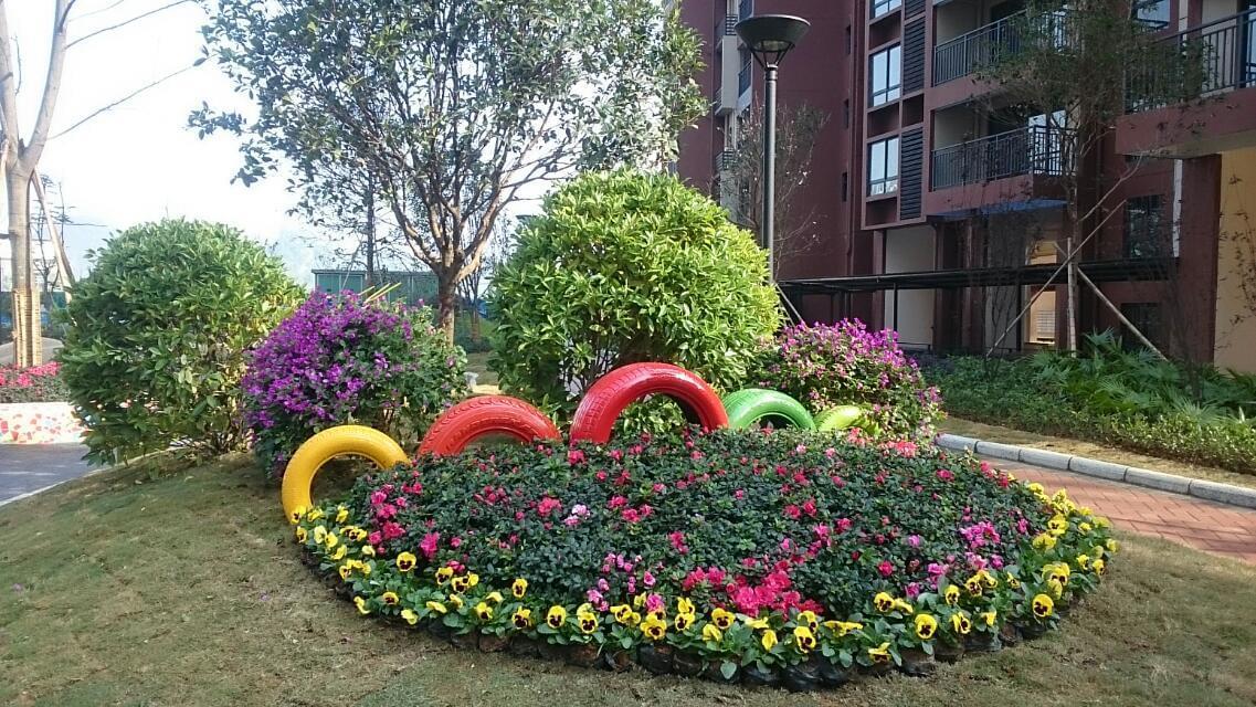 深圳中艺源园林公司讲解庭院植物配置