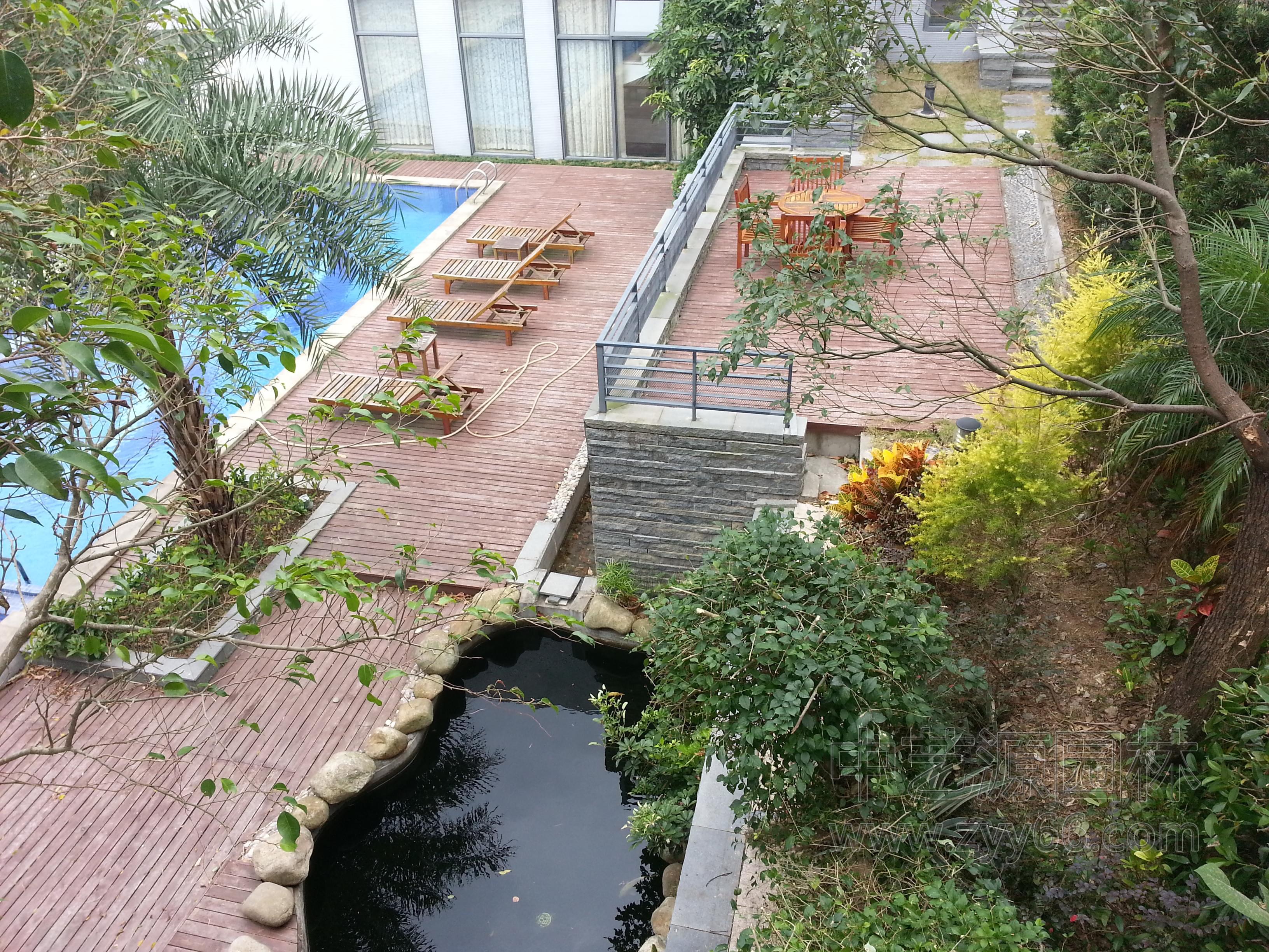 别墅花园设计中艺源打造一个私密的别墅庭院不仅可以美化居住