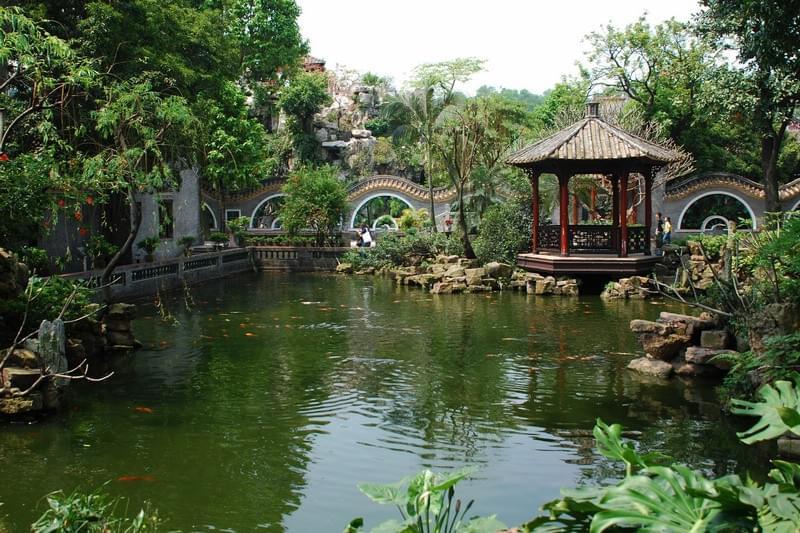 岭南园林设计的文化特点