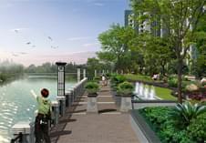 惠州景观设计之沿江公园