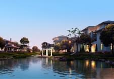 惠州景观设计之英式别墅区