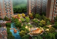 惠州景观设计打造精品住宅区