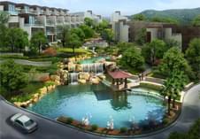 惠州景观设计--殿堂级小区生态公园