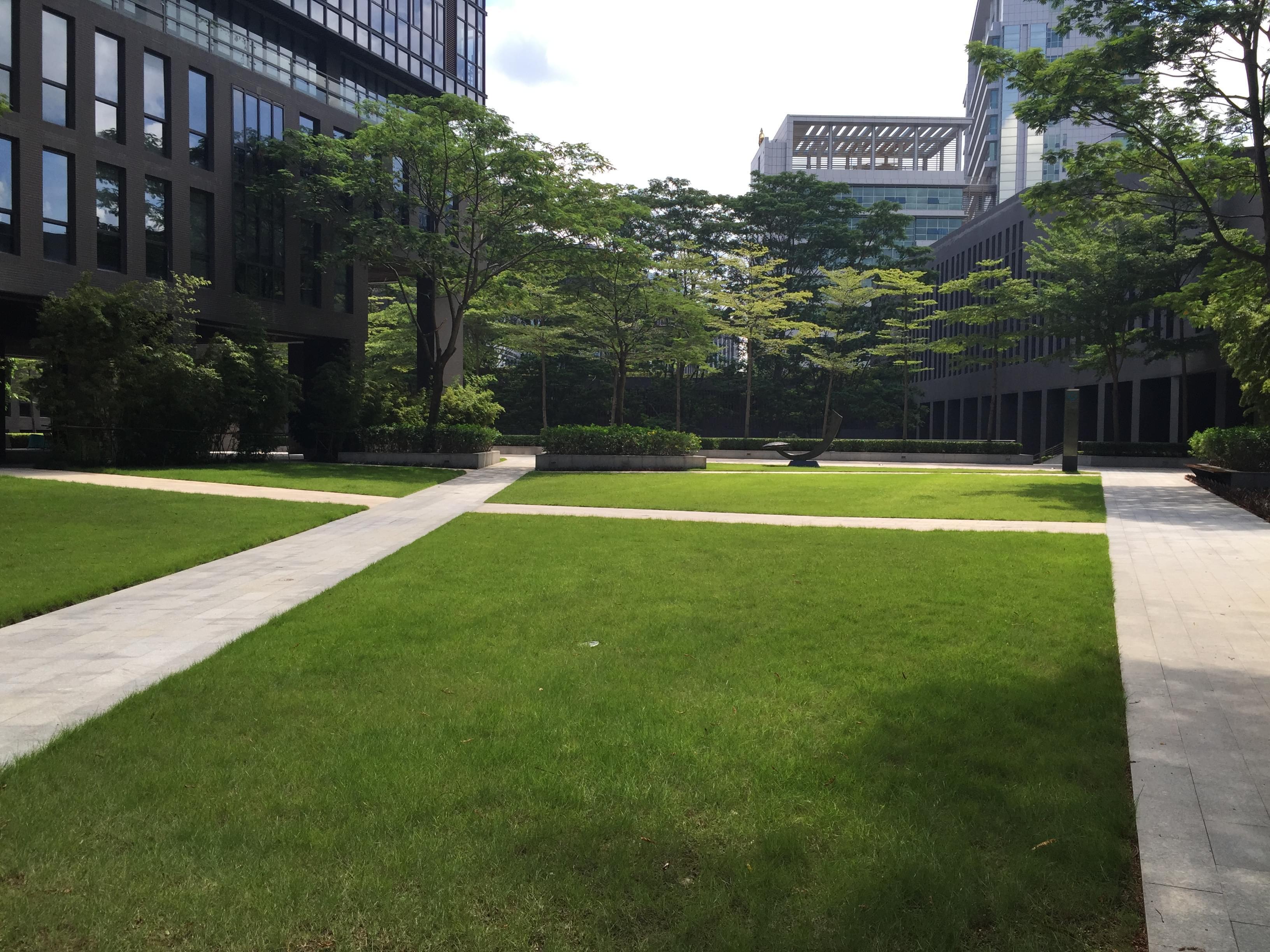 深证通园林工程施工合同签订之深圳园林绿化