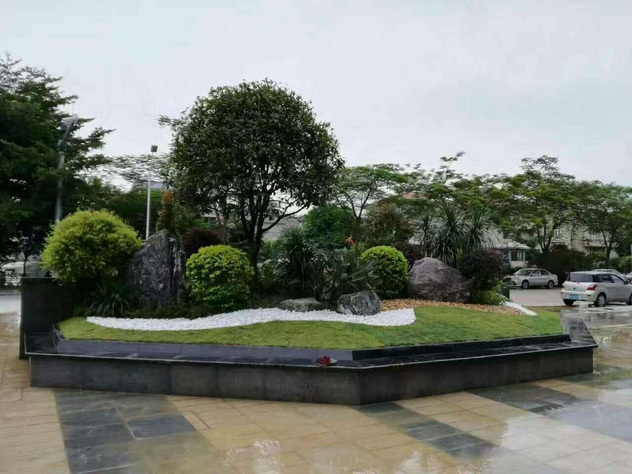 恭喜中艺源园林与建曙房地产签订小区绿化改造施工