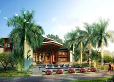 尊贵典雅、热情的泰式风情园林景观设计-保利地产