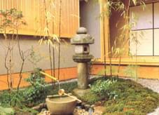 古典日式园艺小品