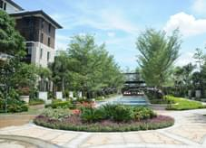 繁而不乱之园林绿化打造别致的别墅区绿地