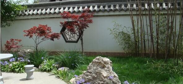 新中式庭院园林景观设计——隐居田园、与自然相伴