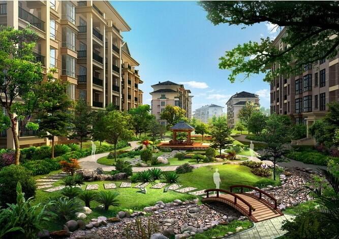园林绿化养护如何成就高档小区