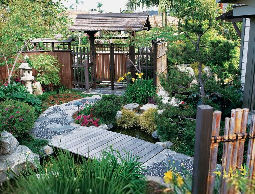 园林工程走进日式别墅庭院注意事项