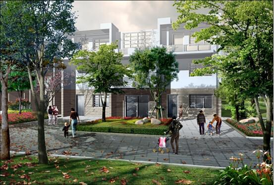 地产绿化设计带给您高质量的生活空间