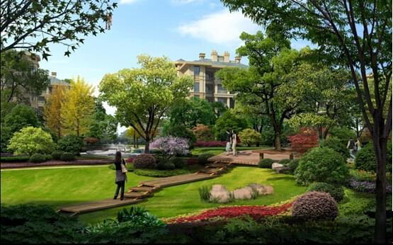 地产绿化设计,让大自然更亲近