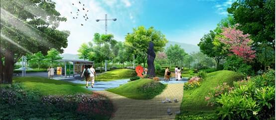 生态地产绿化设计营造和谐人居环境-珠江地产