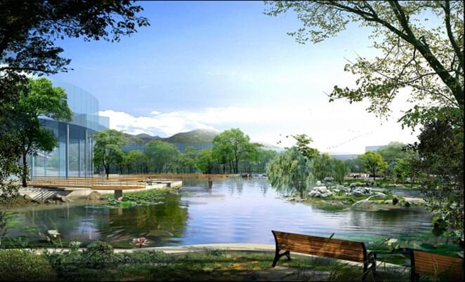 诗意般的地产园林设计