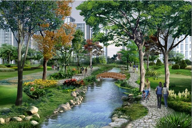 舒适人文居家环境-地产园林设计