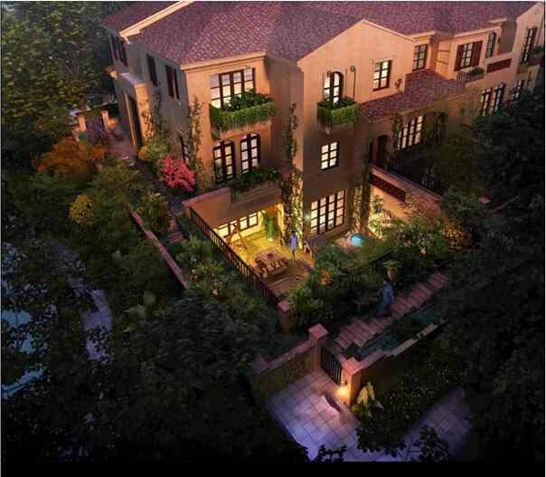 私家庭院园林绿化设计 打造完美绿色生态空间!