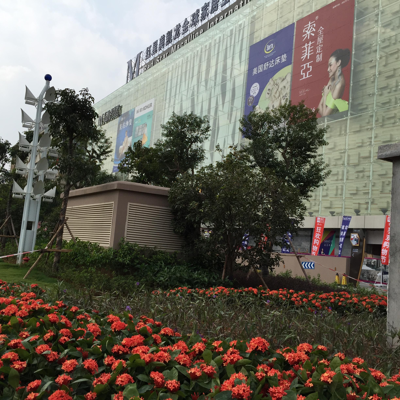 东莞红星美凯龙商业广场景观